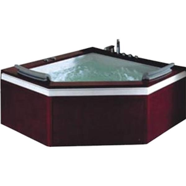 Bồn tắm góc massage Govern JS-0503-1 (Yếm gỗ)
