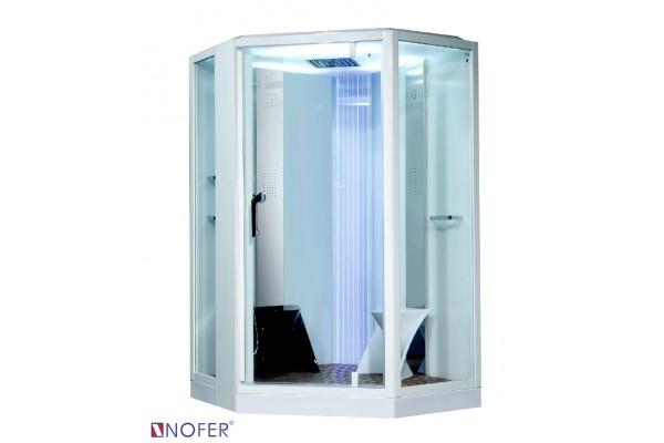 Phòng xông hơi Nofer VS-89106S White