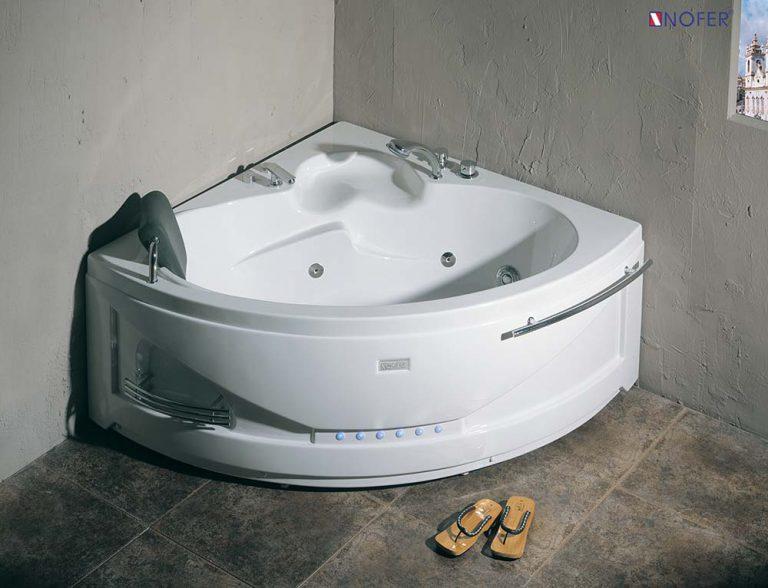 Bồn tắm góc massage Nofer NG-5503