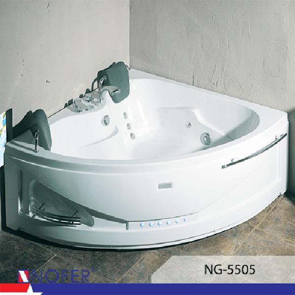 Bồn tắm góc massage Nofer NG-5505