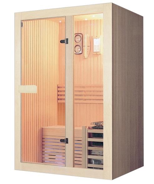 Phòng xông hơi khô gỗ thông ĐT – 1210