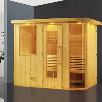 Phòng xông hơi khô gỗ thông ĐT – 1215