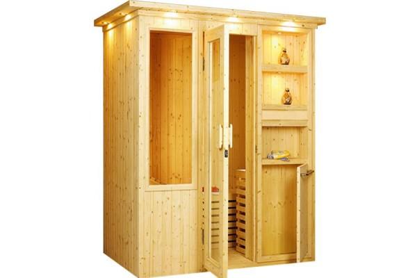 Phòng xông hơi khô gỗ thông ĐT – 1520
