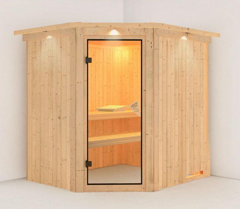 Phòng xông hơi khô gỗ thông ĐT – 1518