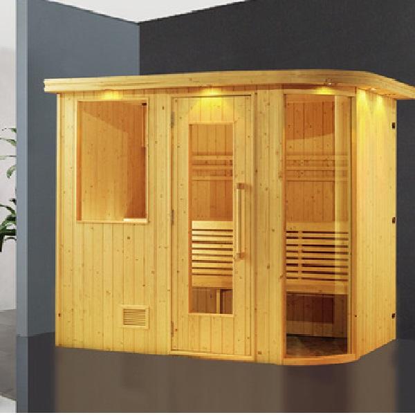 Phòng xông hơi khô gỗ thông ĐT-1215