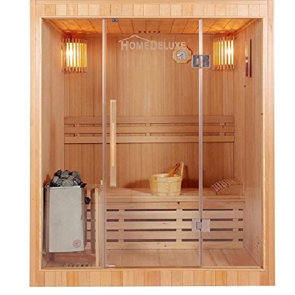Phòng xông hơi khô gỗ thông ĐT-1220
