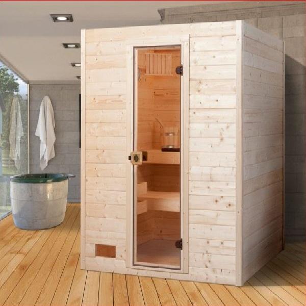 Phòng xông hơi khô gỗ thông ĐT-1515