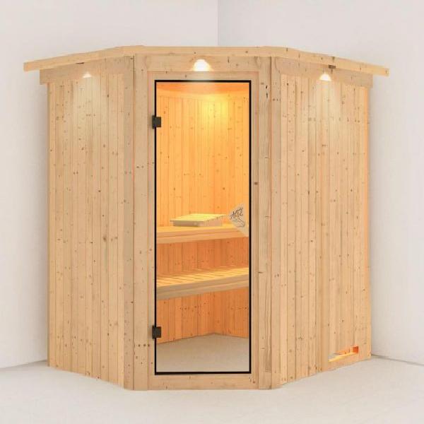 Phòng xông hơi khô gỗ thông ĐT-1518