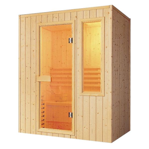 Phòng xông hơi khô gỗ thông ĐT-1616
