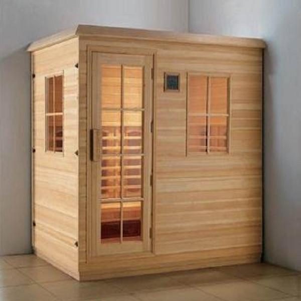Phòng xông hơi khô gỗ thông ĐT-1816