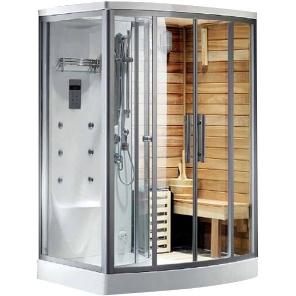 Phòng xông hơi khô ướt kết hợp Drasos 16-02