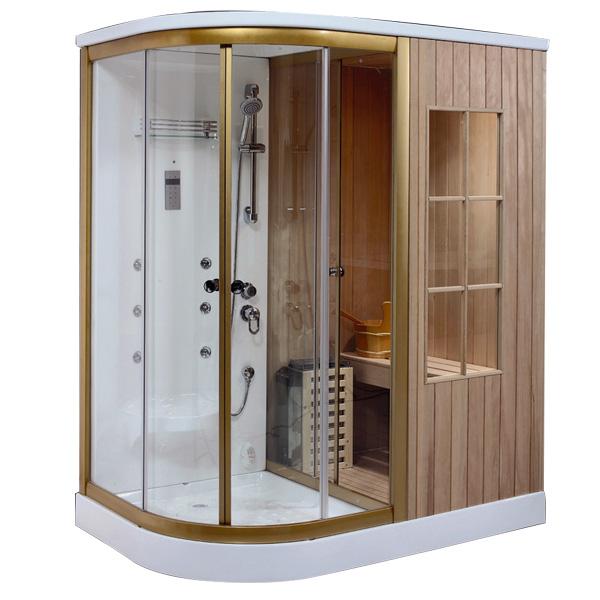 Phòng xông hơi khô ướt kết hợp Drasos HT-01