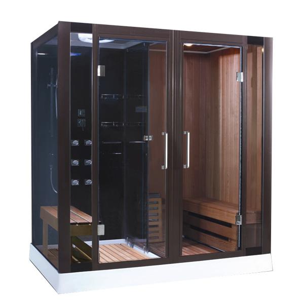 Phòng xông hơi khô ướt kết hợp Drasos  HT-04