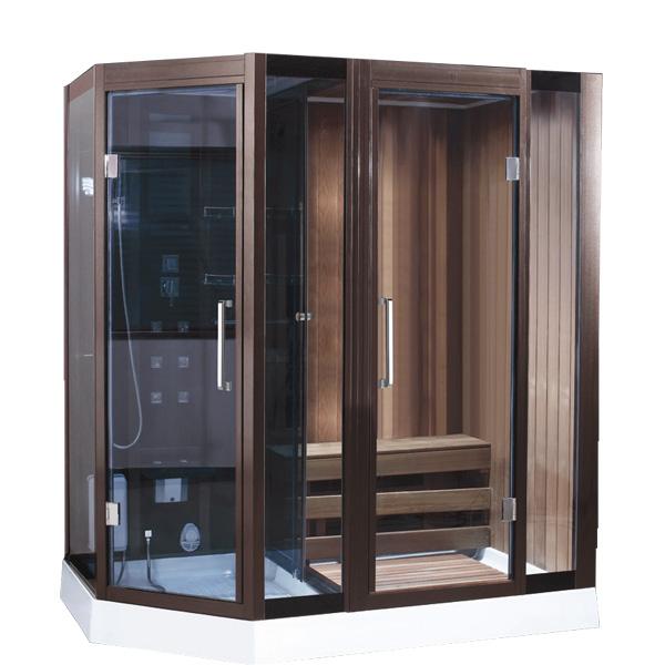 Phòng xông hơi khô ướt kết hợp Drasos HT-05
