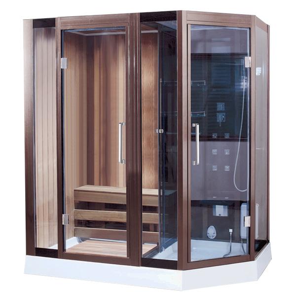 Phòng xông hơi khô ướt kết hợp Drasos HT-06