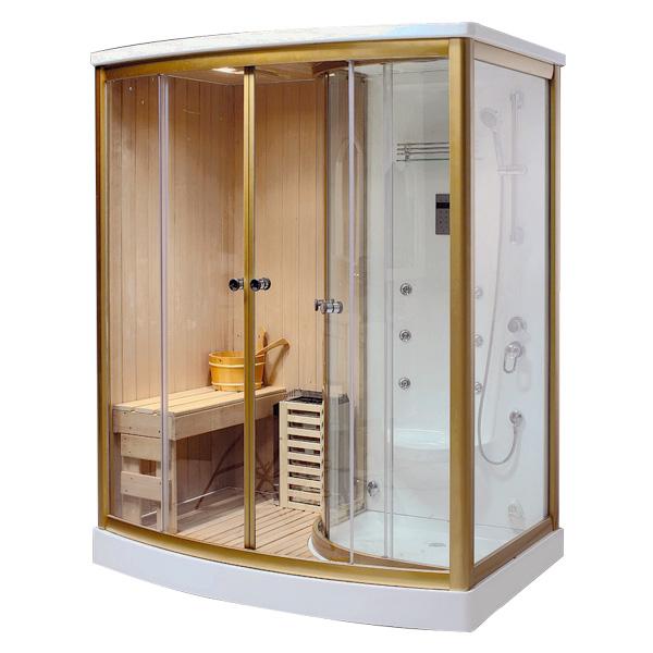 Phòng xông hơi khô ướt kết hợp Drasos HT-08