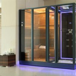 Phòng xông hơi khô ướt kết hợp bằng tia hồng ngoại DUKE-Steam AG0011