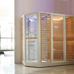 Phòng xông hơi khô ướt kết hợp bằng tia hồng ngoại AG0012R