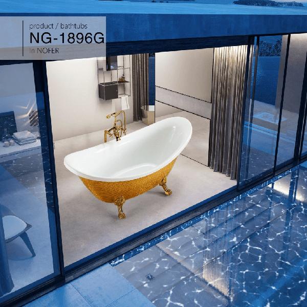 Bồn tắm nghệ thuật Nofer NG-1896G