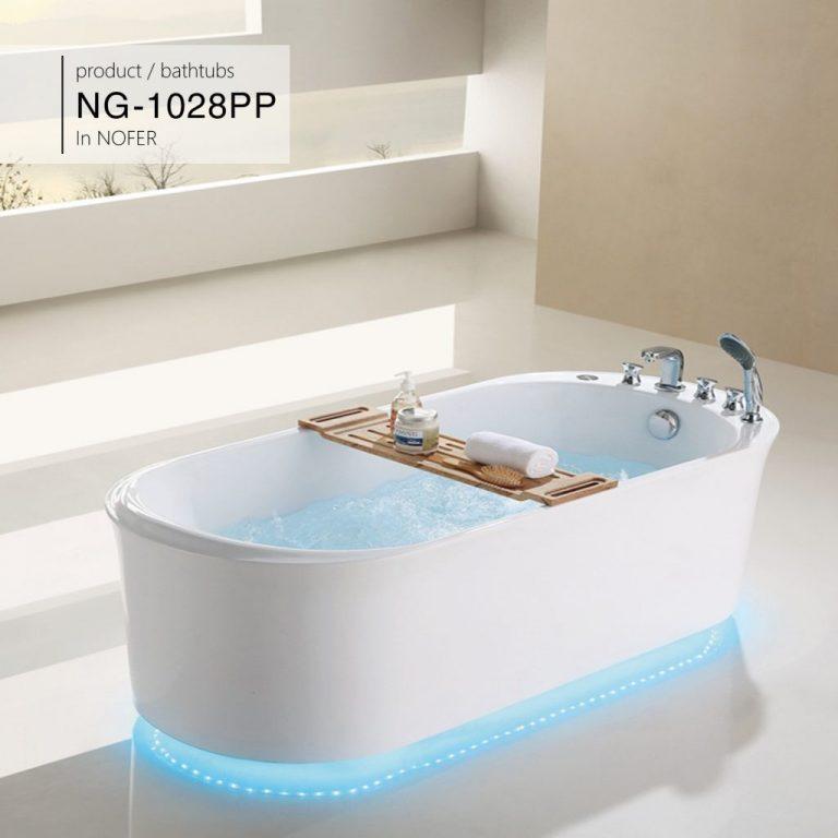 Bồn tắm nằm Nofer NG-1028PP