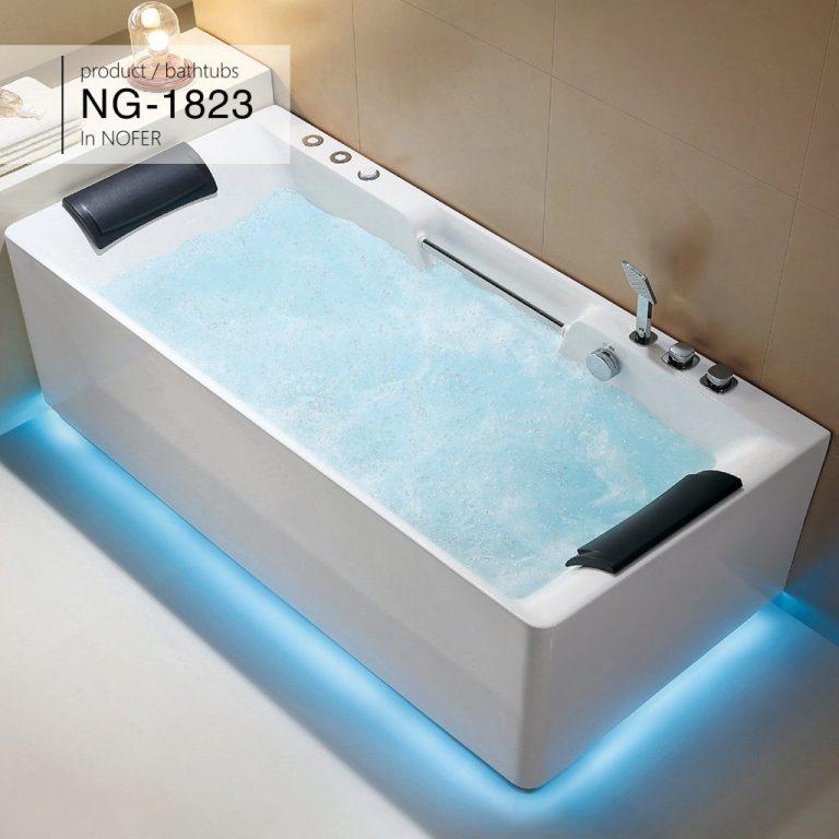 Bồn tắm nằm massage Nofer NG-1823