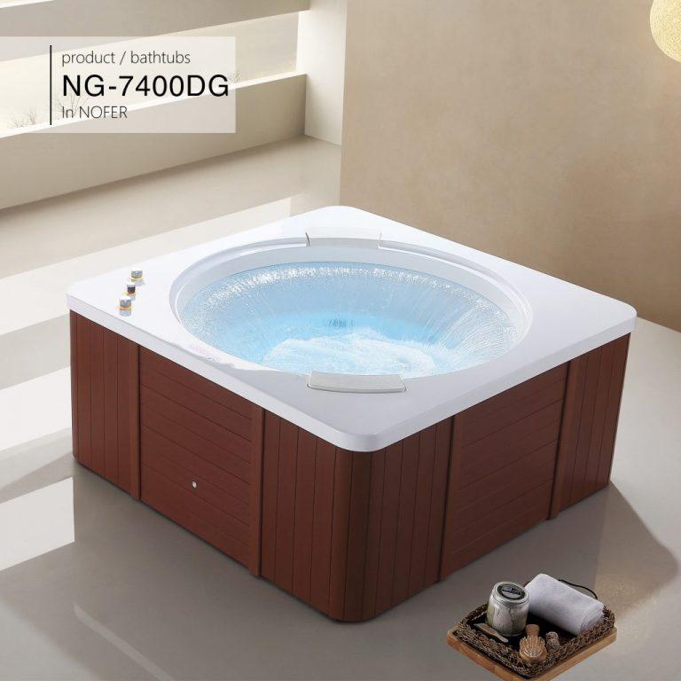 Bồn tắm nằm massage Nofer NG-7400DG