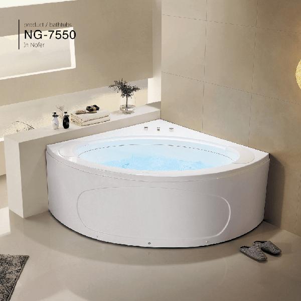 Bồn tắm góc massage Nofer NG-7550DG