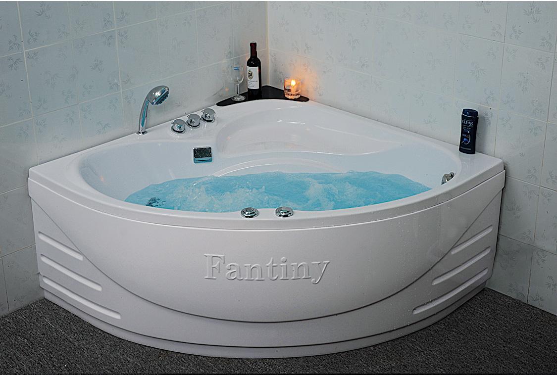 Tìm hiểu kích thước các loại bồn tắm góc, góc massage cho không gian phòng tắm