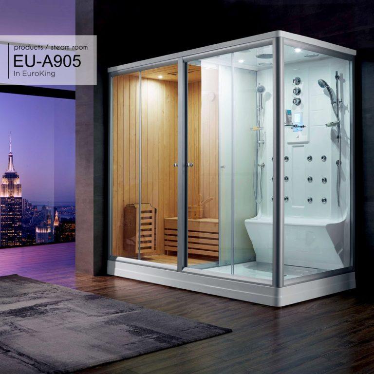 Phòng xông hơi khô ướt kết hợp Euroking EU-A905