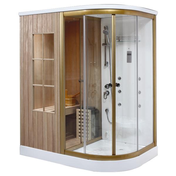 Phòng xông hơi khô ướt kết hợp Drasos HT-02