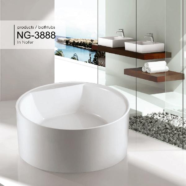 Bồn tắm nghệ thuật Nofer NG-3888