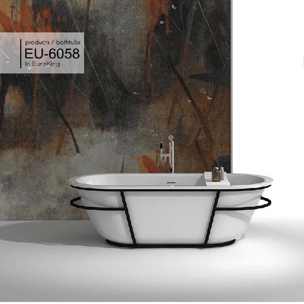 Bồn tắm nghệ thuật Euroking EU-6058