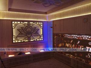 Đại Tín Spa – Hoàn thiện phòng xông hơi khô cho Spa Hoàng Thúy – Hải Phòng