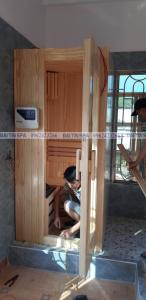 Đại Tín Spa – Hoàn thiện công trình phòng xông hơi khô, ướt, bồn tắm massage nhà Anh Ánh – Vân Đồn