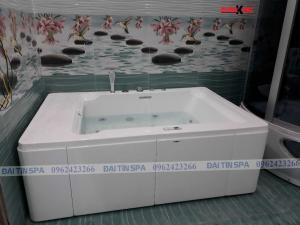 Đại Tín Spa – Hoàn thiện bồn tắm massage nhà Anh Linh – Hạ Long