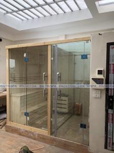 Đại Tín Spa – Hoàn thiện phòng xông hơi khô, ướt nhà Anh Tân – Thanh Xuân